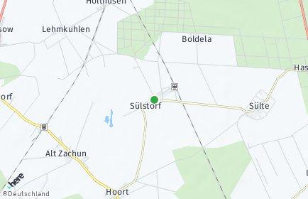 Stadtplan Sülstorf