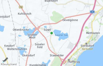 Stadtplan Süsel