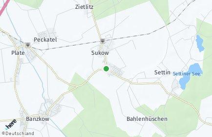 Stadtplan Sukow