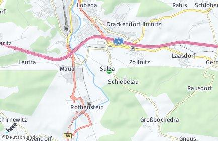 Stadtplan Sulza