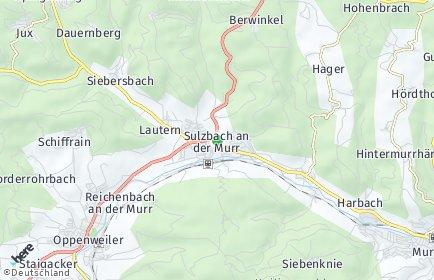 Stadtplan Sulzbach an der Murr
