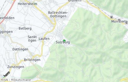 Stadtplan Sulzburg