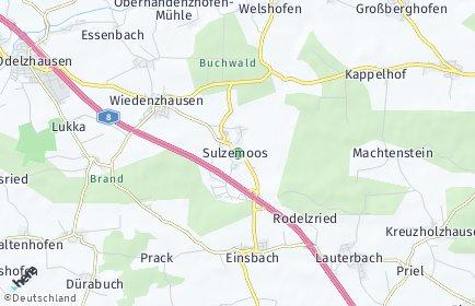 Stadtplan Sulzemoos