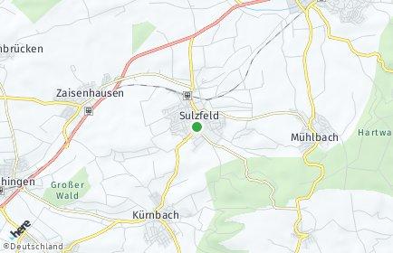 Stadtplan Sulzfeld (Baden)