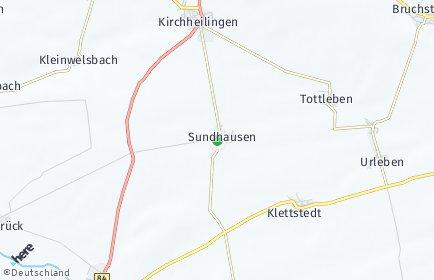 Stadtplan Sundhausen