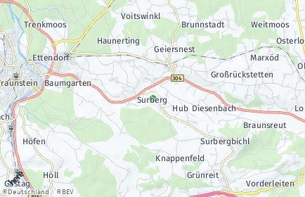 Stadtplan Surberg