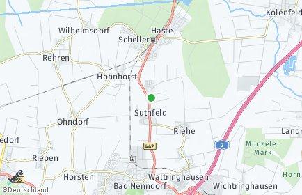 Stadtplan Suthfeld