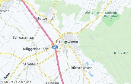 Stadtplan Swisttal
