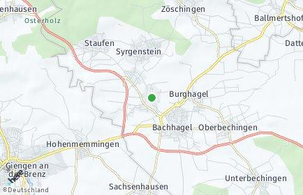 Stadtplan Syrgenstein