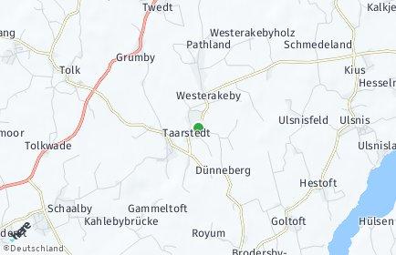 Stadtplan Taarstedt