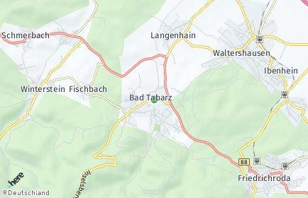 Stadtplan Bad Tabarz