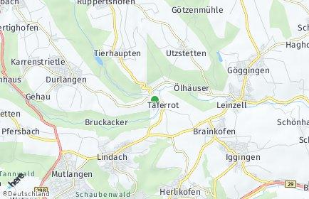 Stadtplan Täferrot