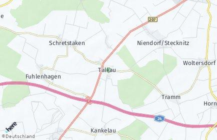 Stadtplan Talkau
