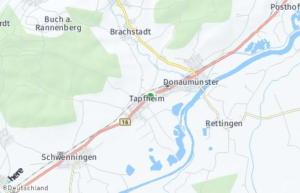 Stadtplan Tapfheim