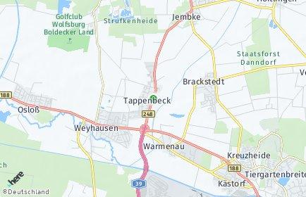 Stadtplan Tappenbeck