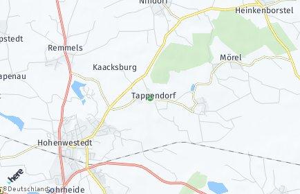 Stadtplan Tappendorf