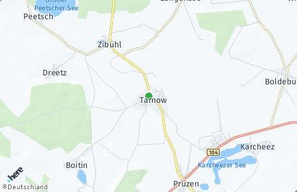 Stadtplan Tarnow (Mecklenburg)