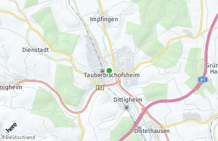 Stadtplan Tauberbischofsheim