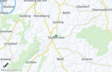 Stadtplan Taufkirchen (Mühldorf am Inn) OT Franking