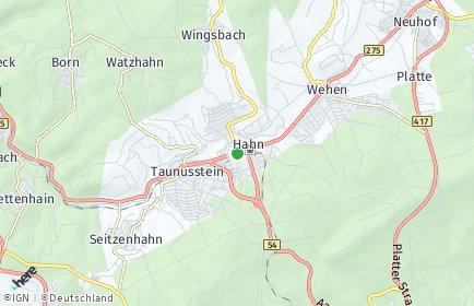 Stadtplan Taunusstein