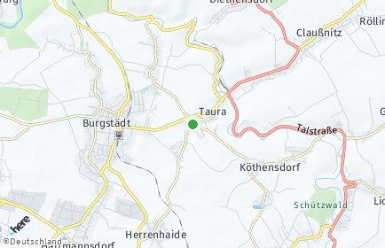 Stadtplan Taura