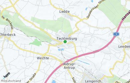 Stadtplan Tecklenburg