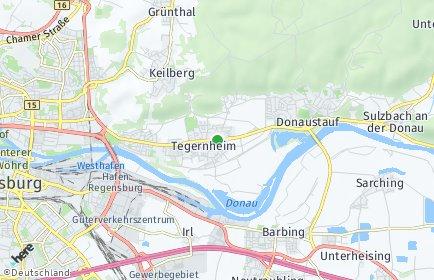 Stadtplan Tegernheim