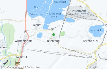 Stadtplan Teichland