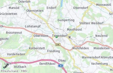 Stadtplan Teisendorf