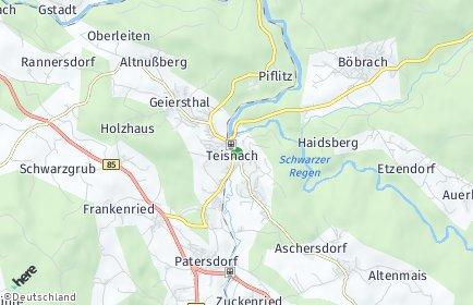 Stadtplan Teisnach
