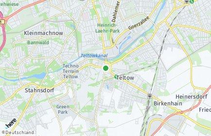 Stadtplan Teltow