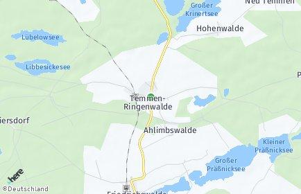 Stadtplan Temmen-Ringenwalde
