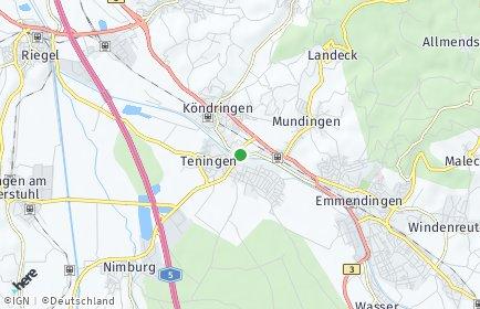 Stadtplan Teningen