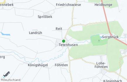 Stadtplan Tetenhusen
