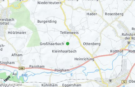 Stadtplan Tettenweis