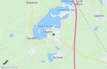 Stadtplan Teupitz
