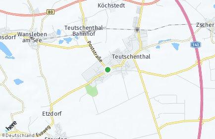 Stadtplan Teutschenthal