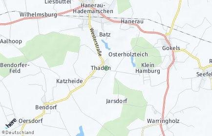 Stadtplan Thaden