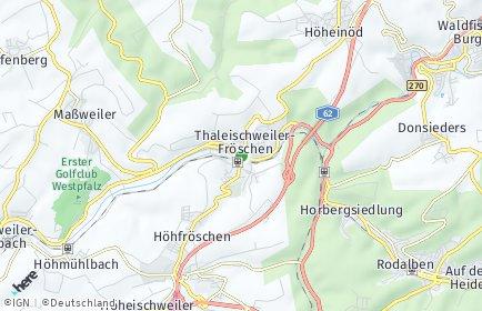 Stadtplan Thaleischweiler-Fröschen