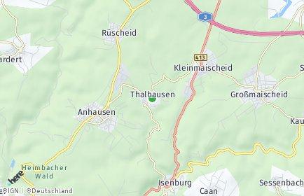 Stadtplan Thalhausen