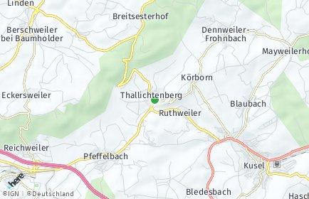 Stadtplan Thallichtenberg