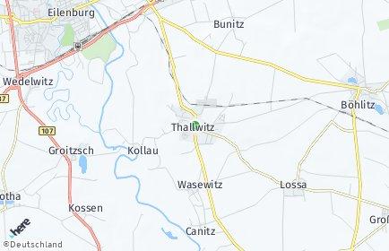Stadtplan Thallwitz