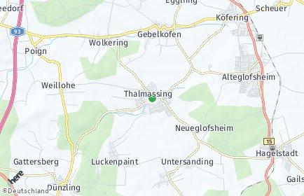 Stadtplan Thalmassing