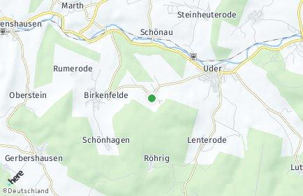 Stadtplan Thalwenden