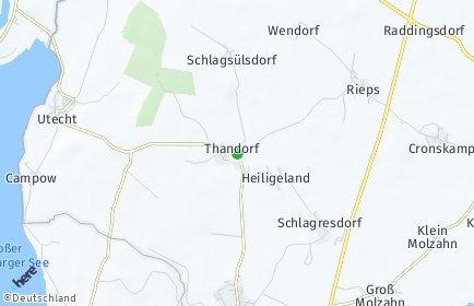 Stadtplan Thandorf