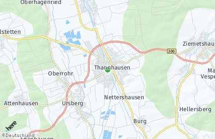 Stadtplan Thannhausen