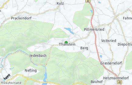 Stadtplan Thanstein OT Kulz