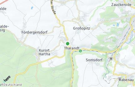 Stadtplan Tharandt