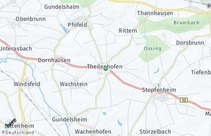 Stadtplan Theilenhofen
