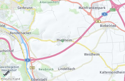 Stadtplan Theilheim